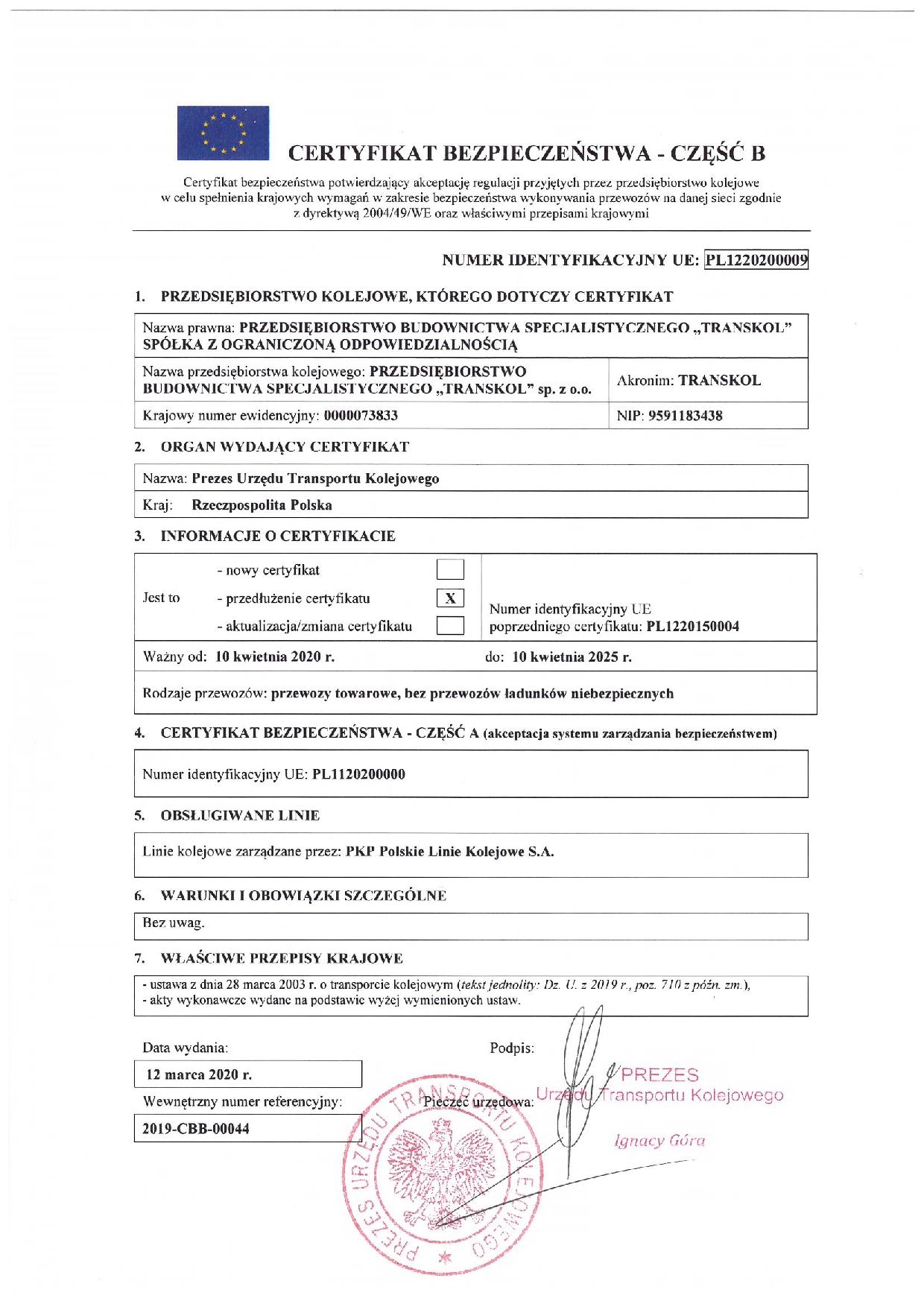 Certyfikat_bezpieczenstwa_B